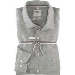 Photo of Olymp Level Five Smart Business Shirt, body fit, Kent, Olive, 40 Olymp