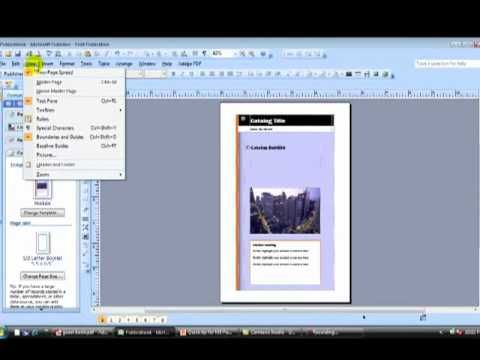 Ms Publisher Tip How To Create A Booklet And Share It As A Pdf Mp4 Booklet Publishing Teacher Classroom