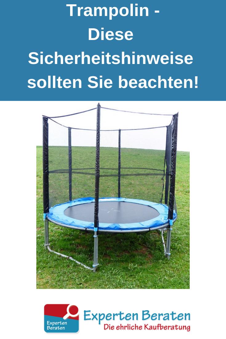 Diese Sicherheitshinweise Sollten Sie Bei Kindertrampolinen Beachten Trampolin Fitness Trampolin Kinder