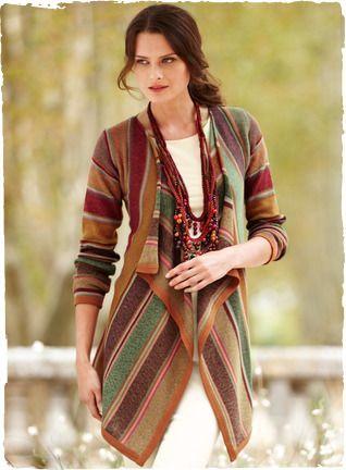 5b4ed5df54 Kaffe Fassett s art knit cardigan - Peruvian Connection