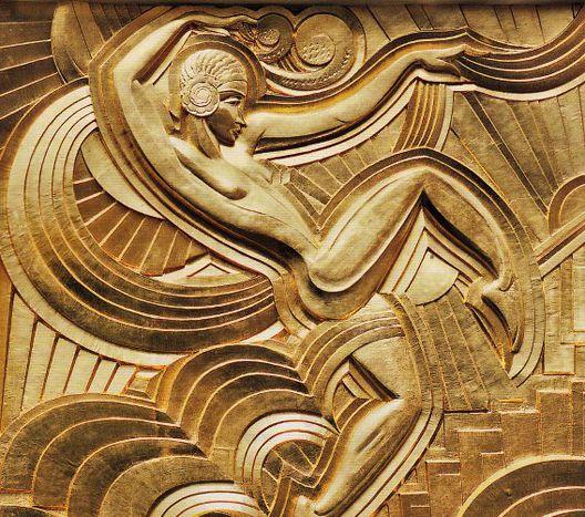 Maurice Pico, Bas-relief représentant la danseuse Anita Barka, 1928 ...