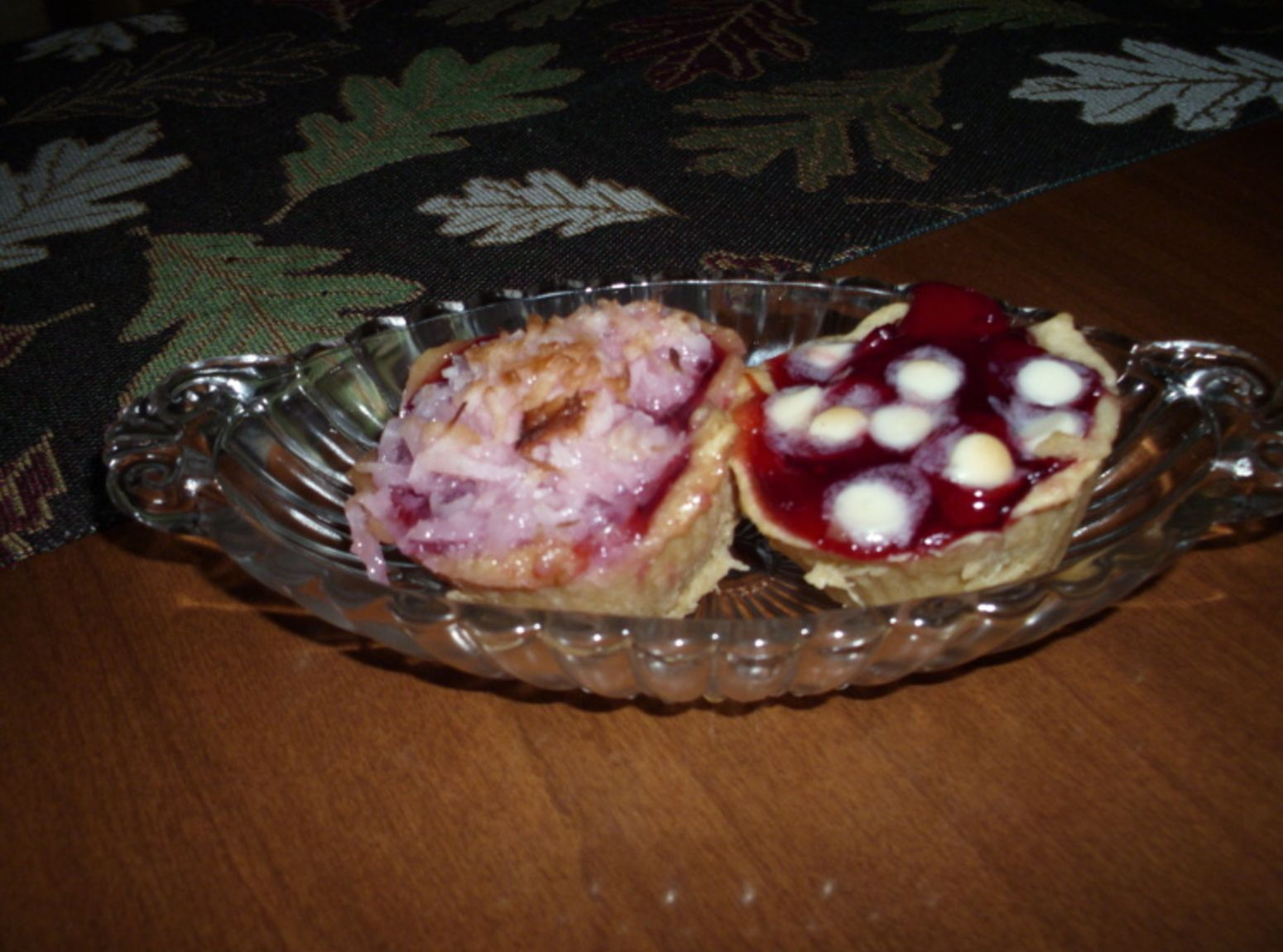 Quick and Easy Cherry Tarts