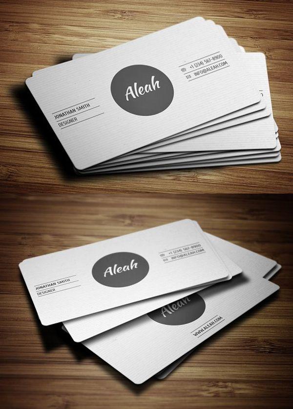 Simple Textured Business Card | design | Pinterest | Business cards ...