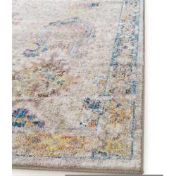 alfombra benuta Trends Tara Multicolor 300×400 cm – alfombra vintage en aspecto usado