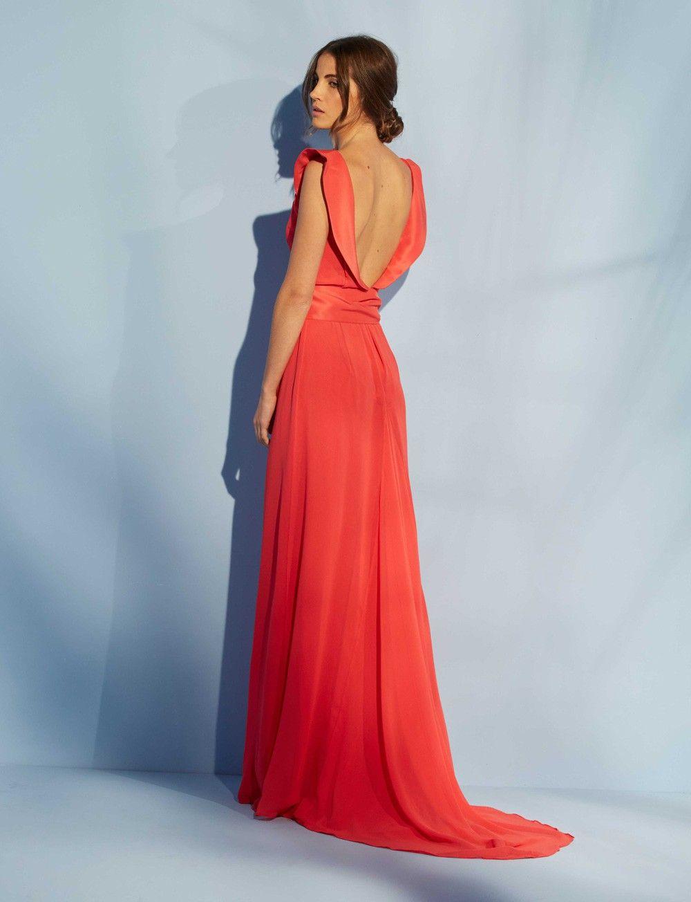 Espalda vestido cannes nubbe clothes vestido pinterest gowns