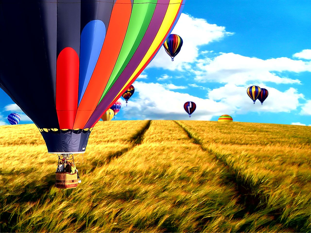 Hot Air Balloon Wallpaper Collection For Free Download HD
