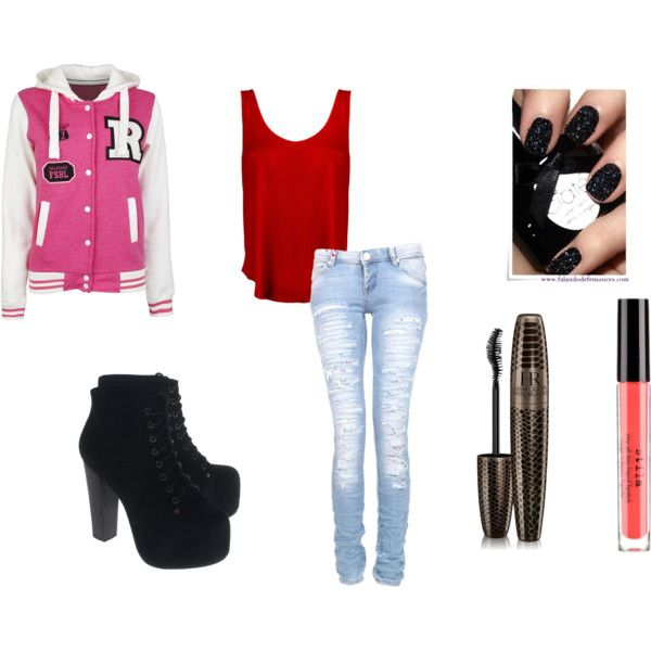 Cute outfits with skinny jeans for school
