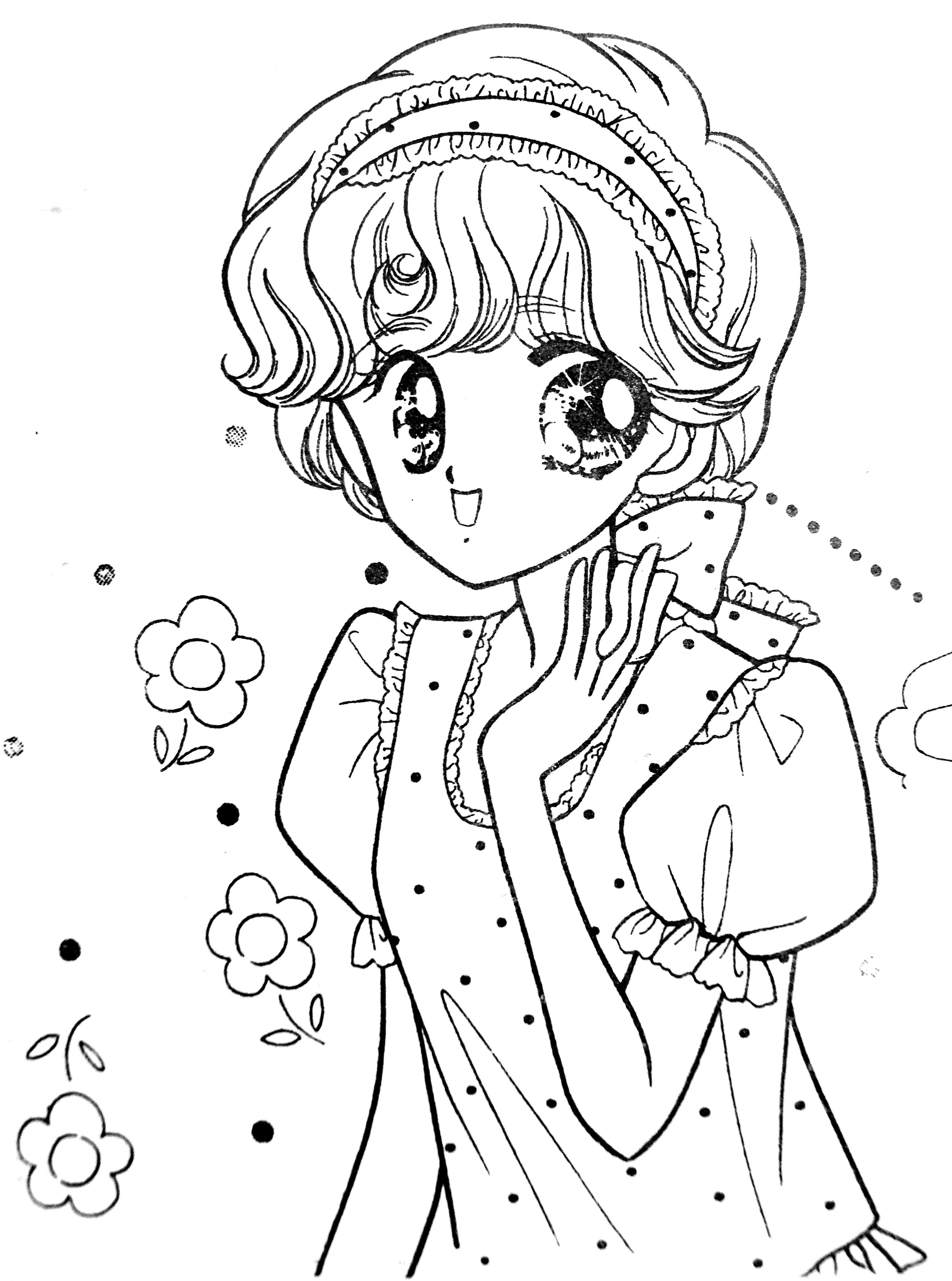 Pin By Michelle On Anime Coloring Pages Vintage Coloring Books Coloring Books Flower Coloring Pages [ 4044 x 3006 Pixel ]