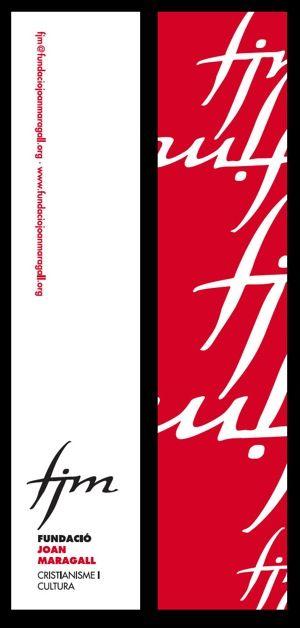 Punt de llibre 2011. Fundació Joan Maragall. #design #religion #culture