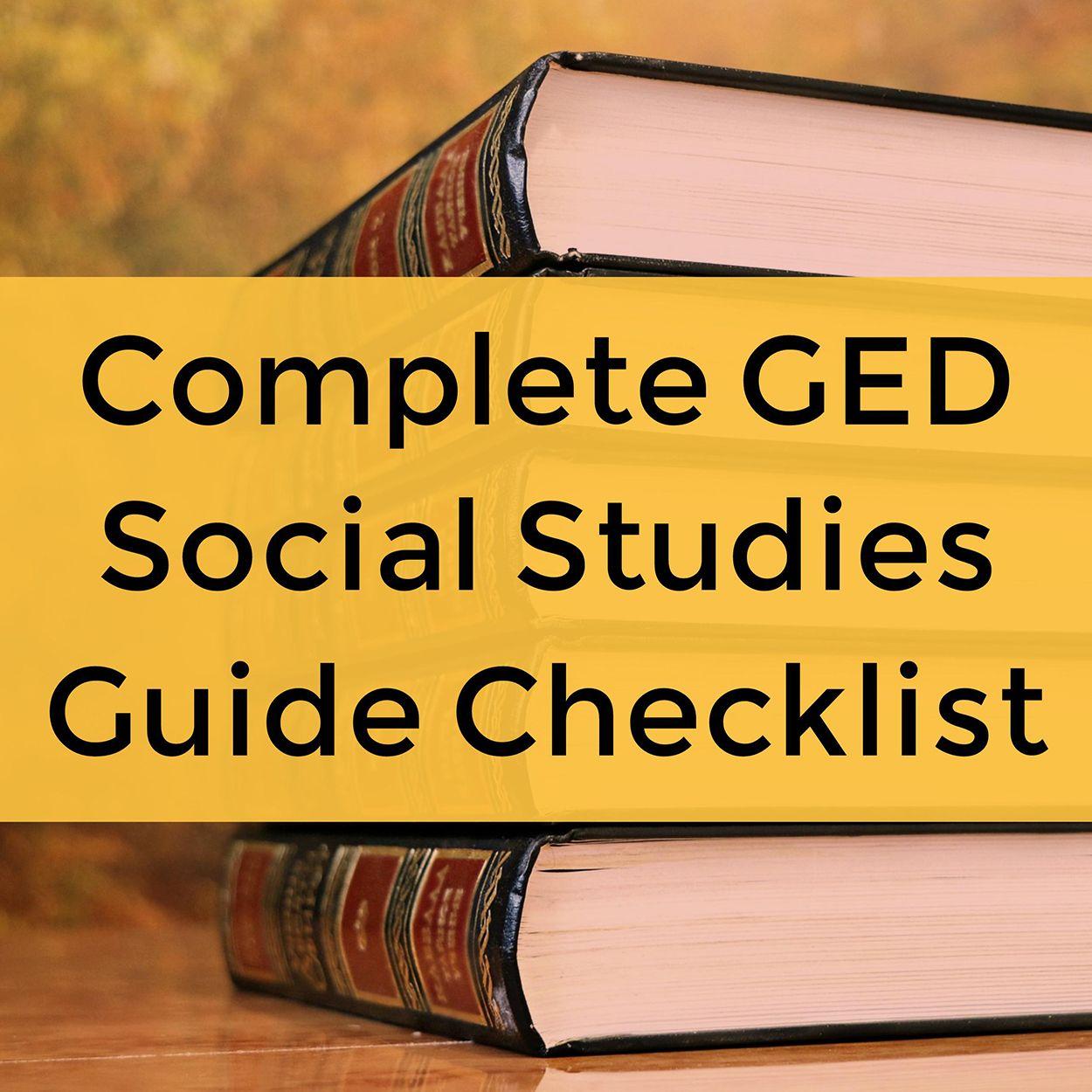 Ged Social Stu S Classes Online