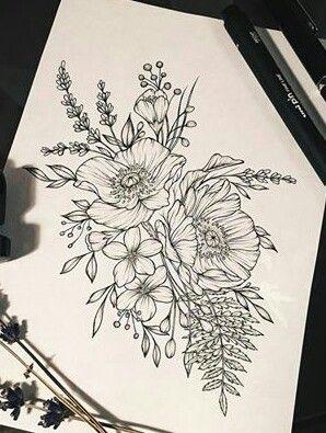Pin By Samantha Beach Bona On Tattoos Ideas Floral Tattoo Sleeve Half Sleeve Tattoo Floral Tattoo