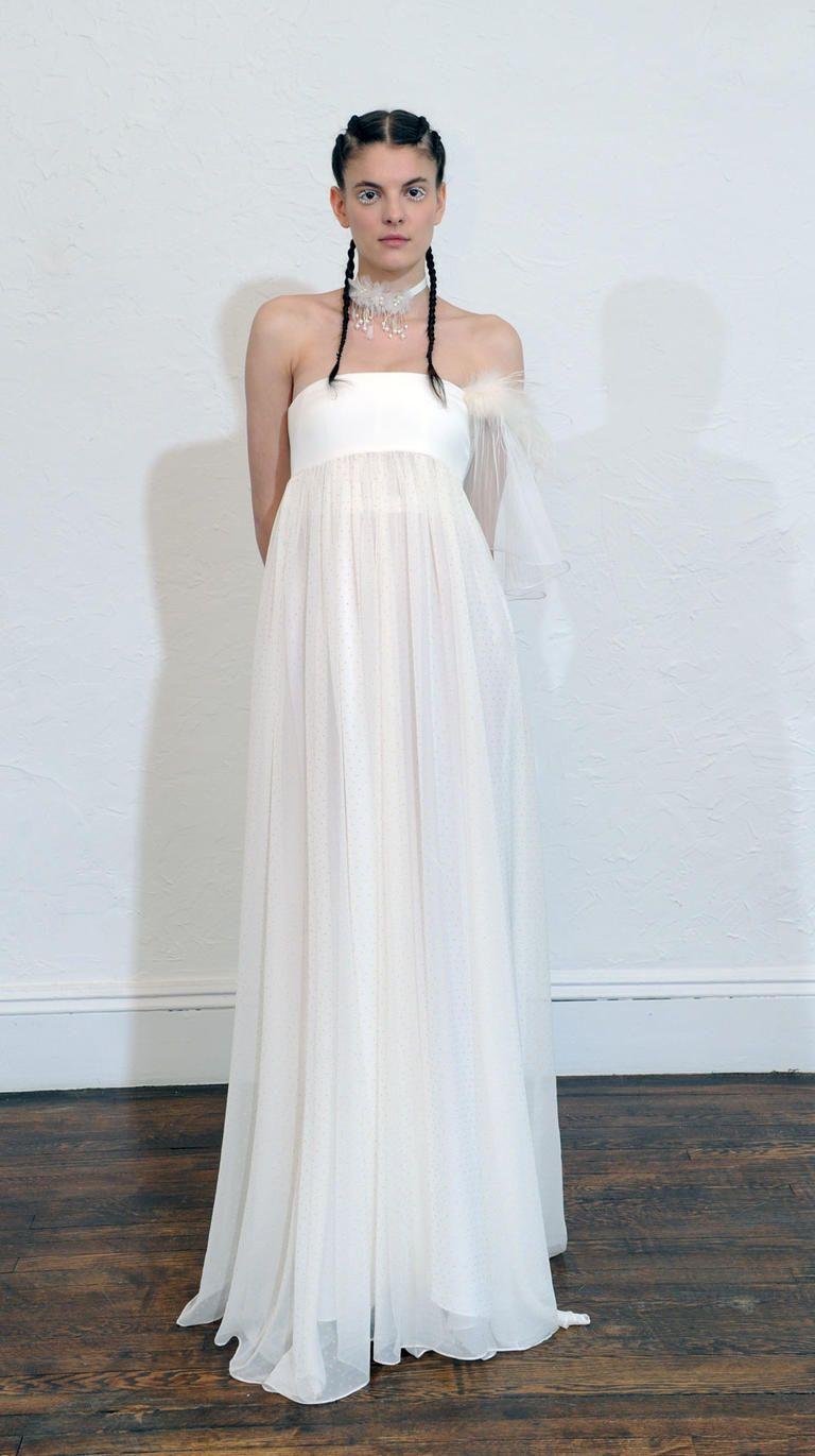 Wedding dresses style women summer