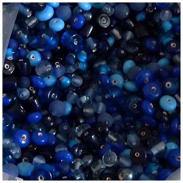 Indische Glas Perlen - 1 VE