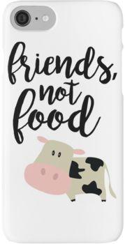 Friends Not Food - Vegan  iPhone 7 Cases
