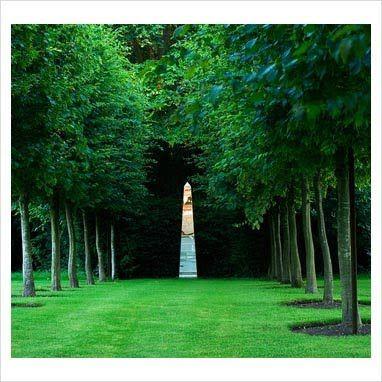 Willowbrook Park The Pleached Lime Walk And The Copper Beech Glade Garden Obelisk Obelisk Memorial Garden