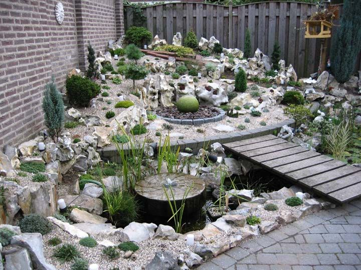 Rock landscaping ideas rock garden ideas alpine garden for Outdoor decorating with rocks
