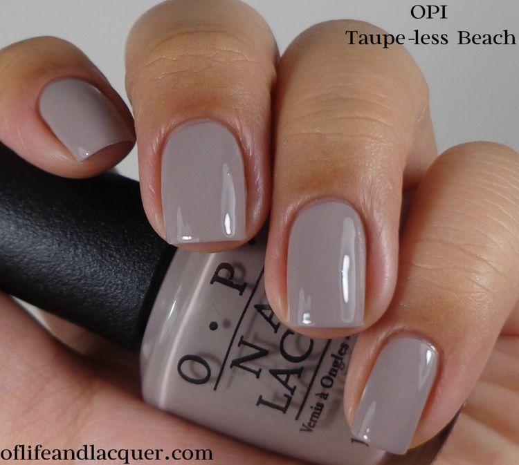 Purple Taupe Nail Polish: Nails, Taupe Nails