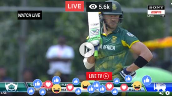 Live Cricket Sony Espn Live Sa Vs Sl 4th Odi Live Streaming