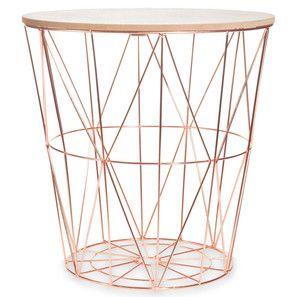 Copper Deco Maison Du Monde Tables Basses Dorees Deco Chambre Rose Gold