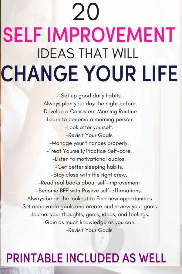How to improve your life instantly.