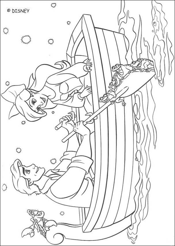 Little Mermaid Coloring Pages For KidsAdult
