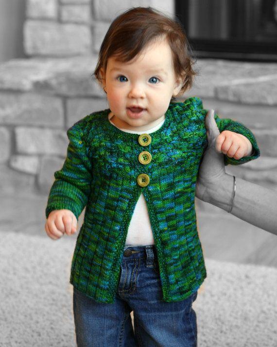 Galway Girl Cardigan pdf knitting pattern door TrappingsandTrinkets ...