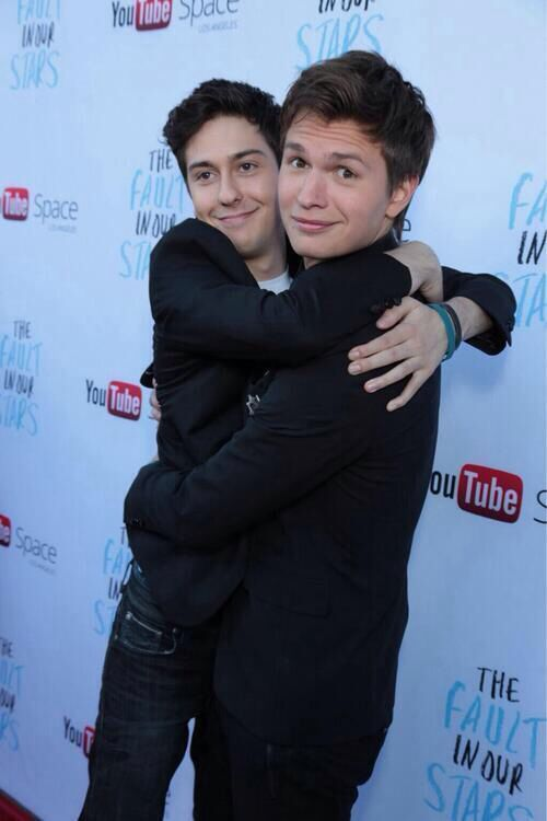 Ansel Elgort and Nat Wolff   The fault in our stars, Ansel ...