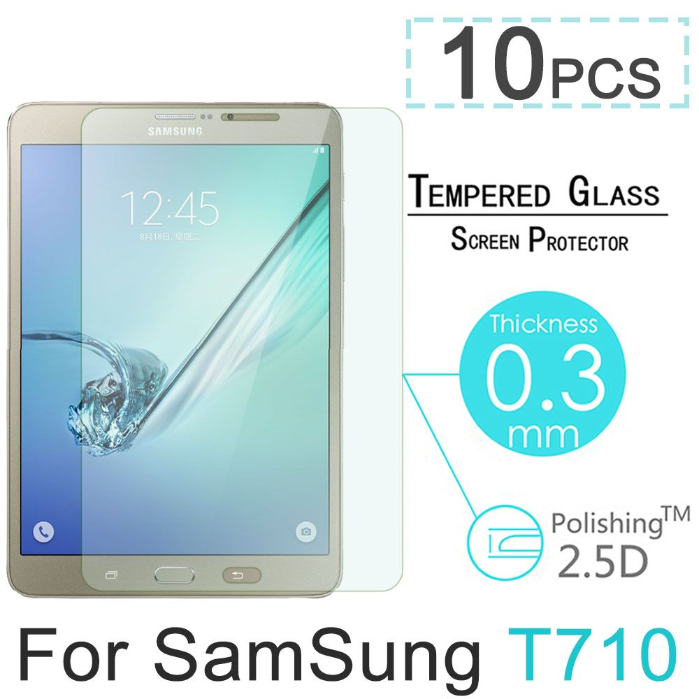 "10pcs 9H Explosion-Proof Toughened Tempered Glass For Samsung Galaxy Tab S2 T710 T715 8"" Tablet Film Clear Screen Protect Cover #Affiliate"