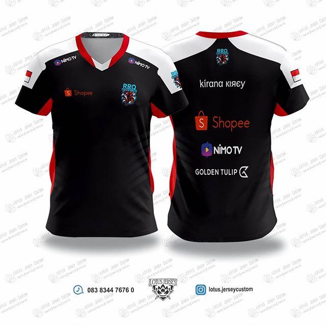 Download Pin Di Esports Jersey Template