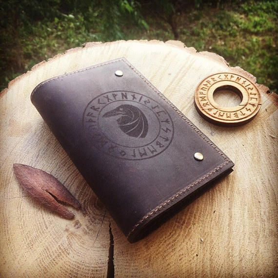 Leather Passport Case - Je Suis Voyage By Vida Vida DKsBlv2R