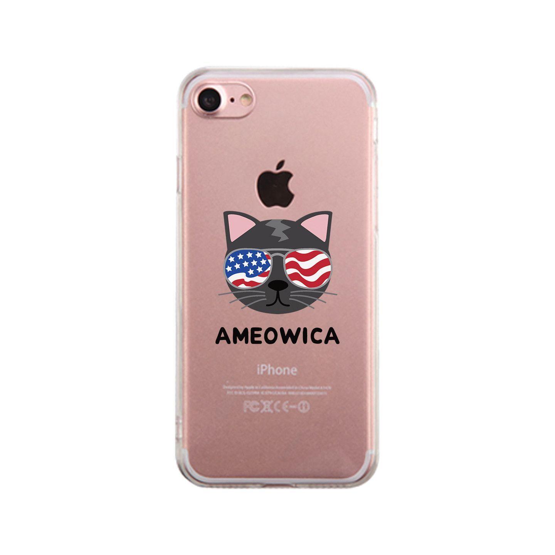 Ameowica Clear Phone Case