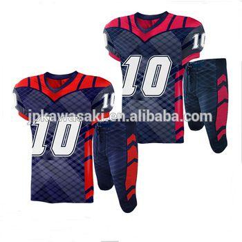 d1a68745bd1 Low MOQ New Model Football Jersey Cheap Youth Custom American Football  Uniform #footballpaddedpants #blueamericanfootballpant