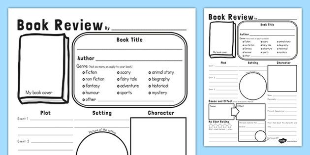 The 25+ best Book review template ks2 ideas on Pinterest - after action report template