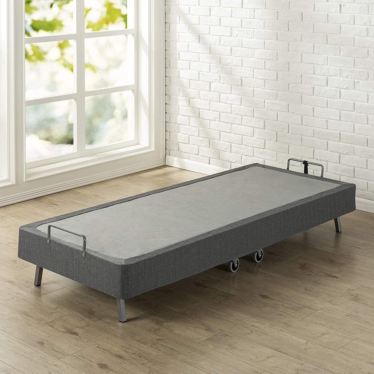 Zinus Memory Foam Resort Folding Guest Bed With Wheels Narrow