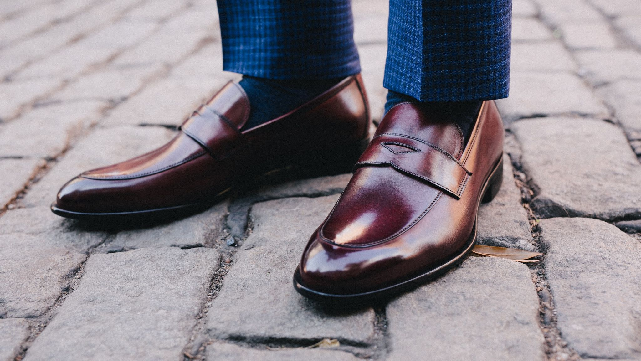 535388a47013a The Stewart Penny Loafer - Oxblood in 2019 | Mainly Loafers | Penny ...