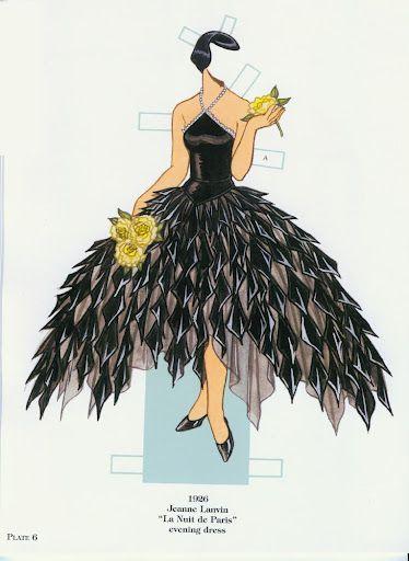 French Fashion Designers 1900-1950 | Gabi's Paper Dolls