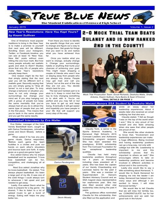 Teacher Of The Month Sports Highlights Honor Roll Theater