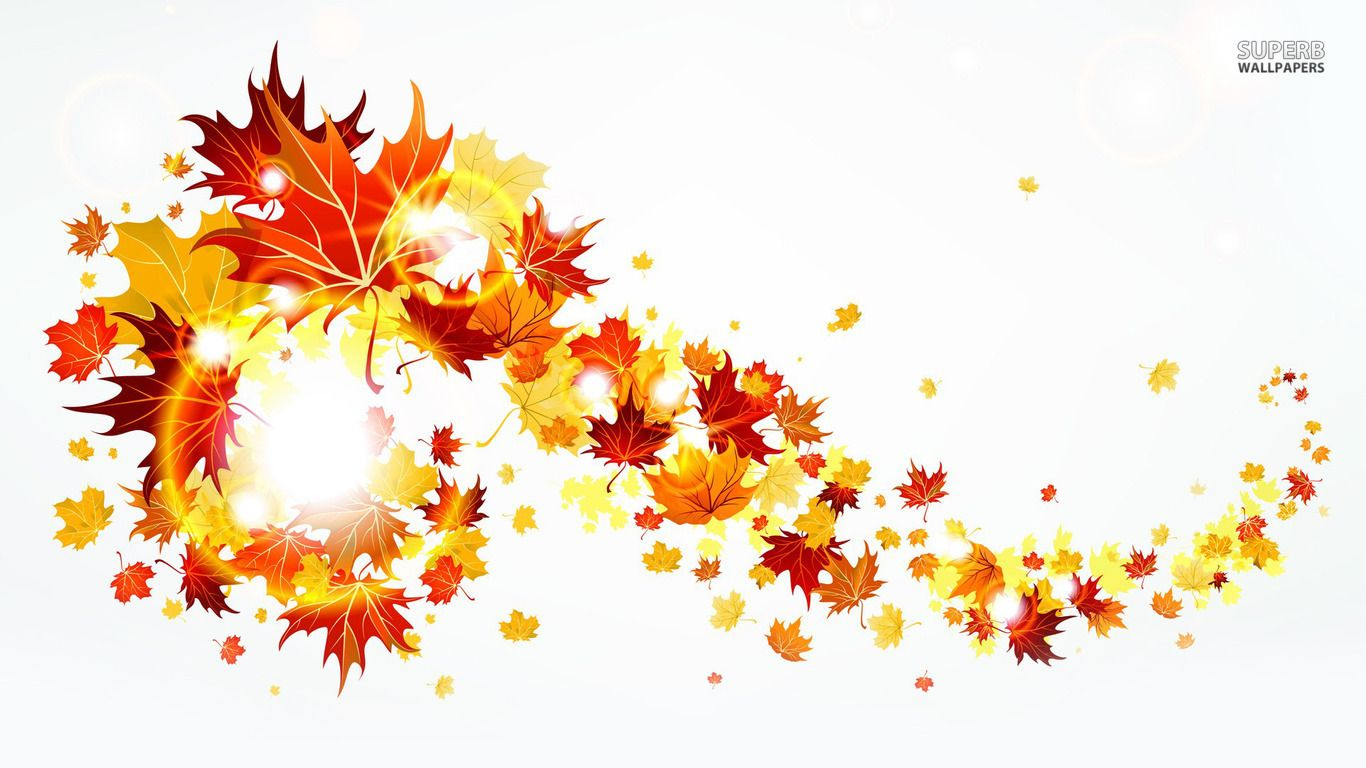 fall leaves fall clip art autumn clip art leaves clip art clipart  [ 1366 x 768 Pixel ]