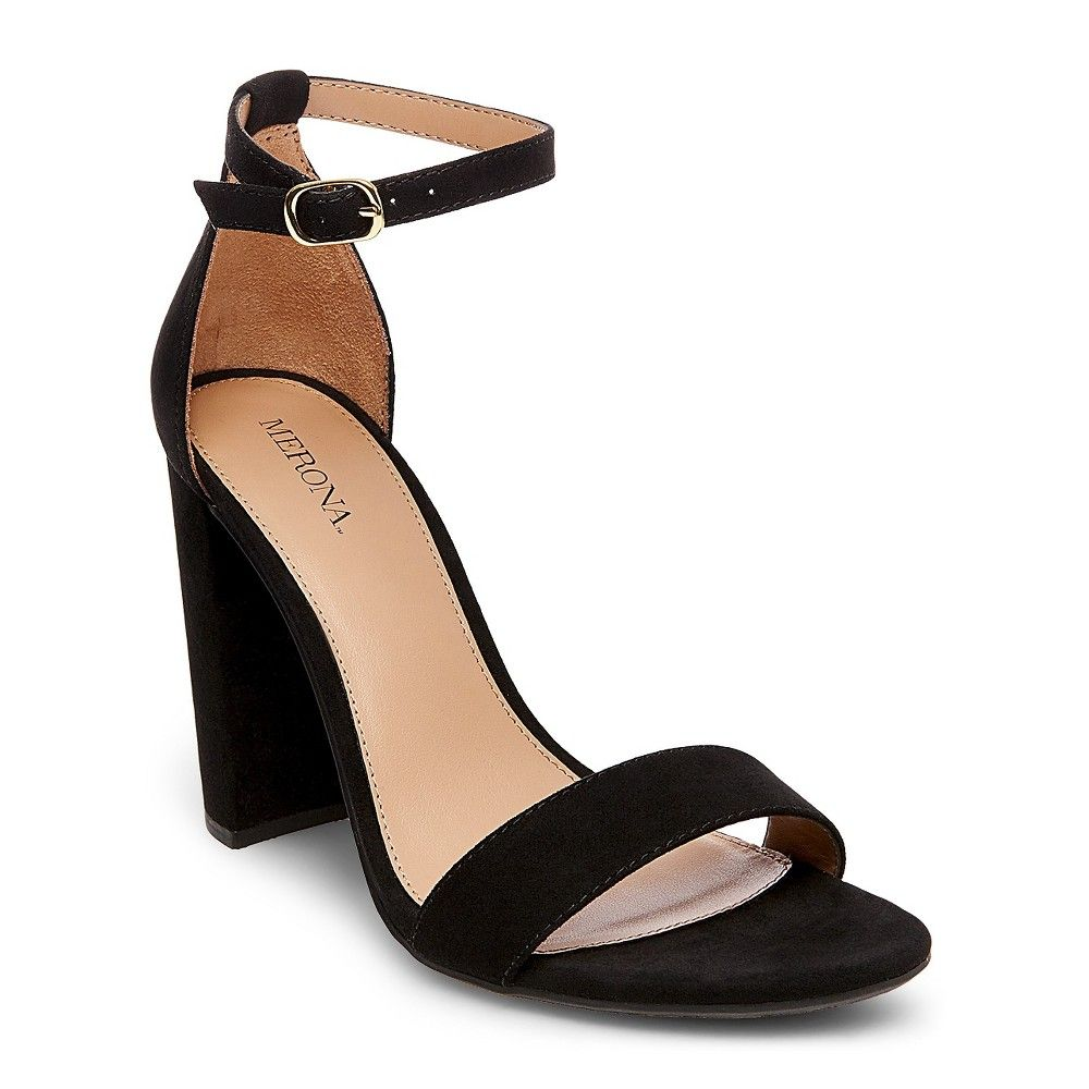 Women s Lulu Wide Width High Block Heel Sandal Pumps with Ankle