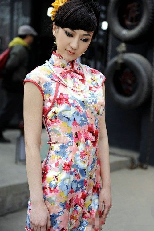 Chinese Cheongsam, Qipao http://www.cultureincart.com