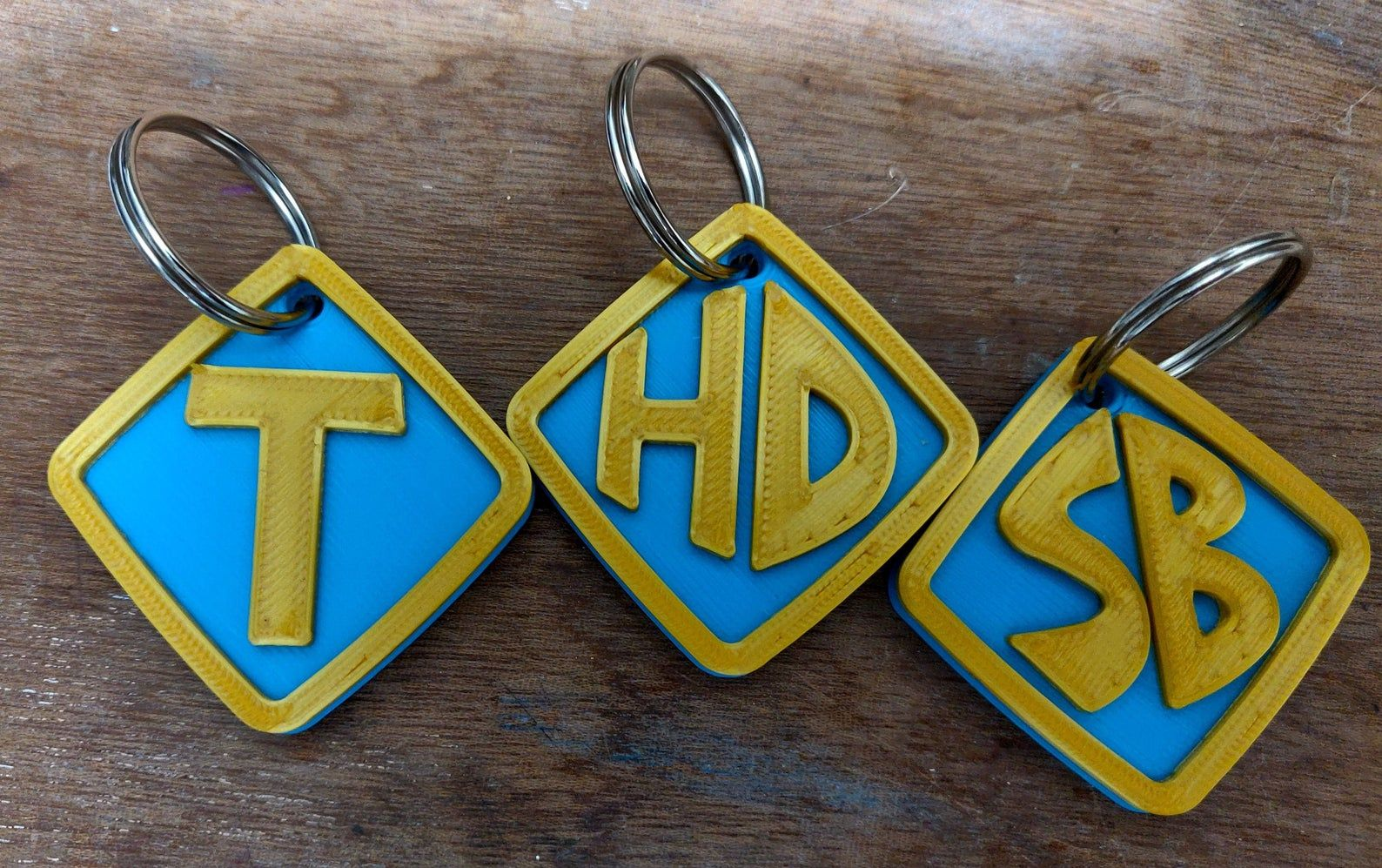 Custom personalized scooby doo style dog collar tag