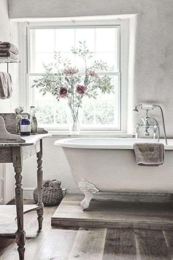 Idee per arredare il bagno in stile country | Arredo bagno ...