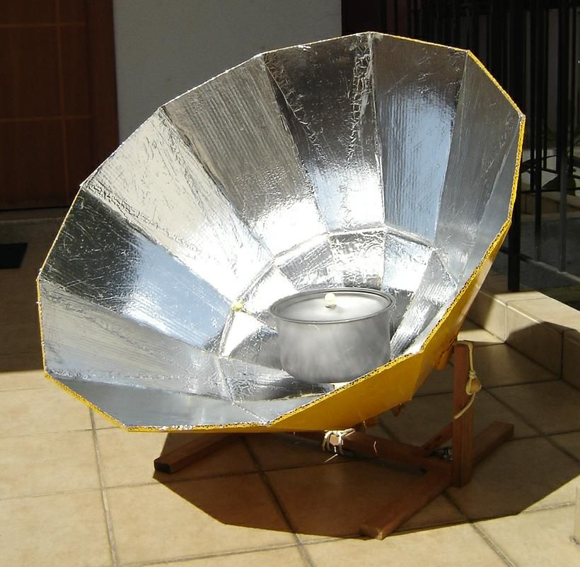 Another solar oven you can make solar cooking projects for How to make a simple solar panel for kids