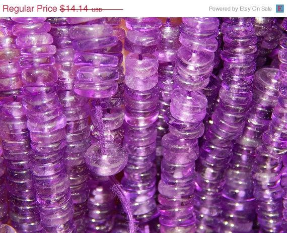 127 CT's 16 Inches AAA Amethyst Gemstone Beads by manzoorgems