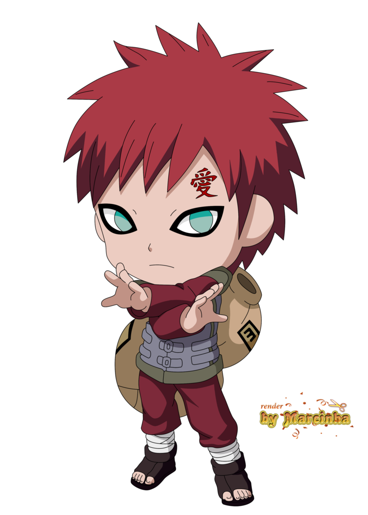 Chibi Gaara The Last By Marcinha20 On Deviantart Anime Chibi Chibi Naruto Characters Chibi