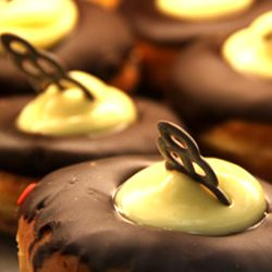 Boston Creme Donuts from the Rebel Bakery in Albuquerque, NM