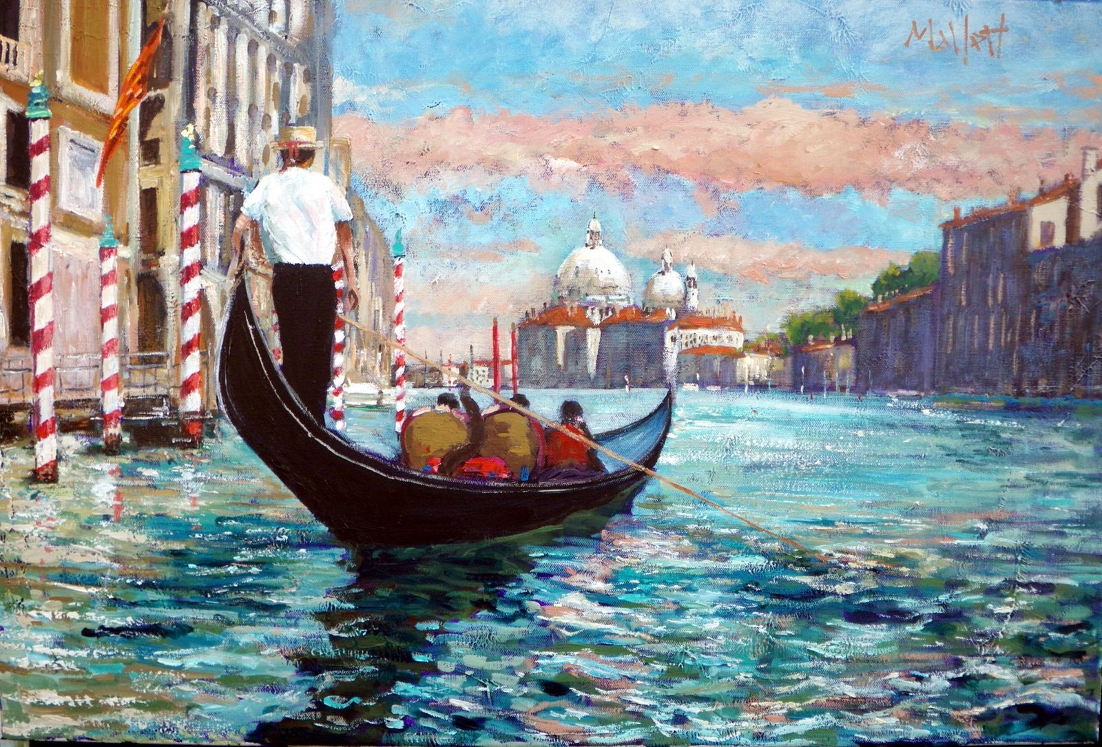 Timmy S Painting Of Venice The Grand Canal Venice Painting