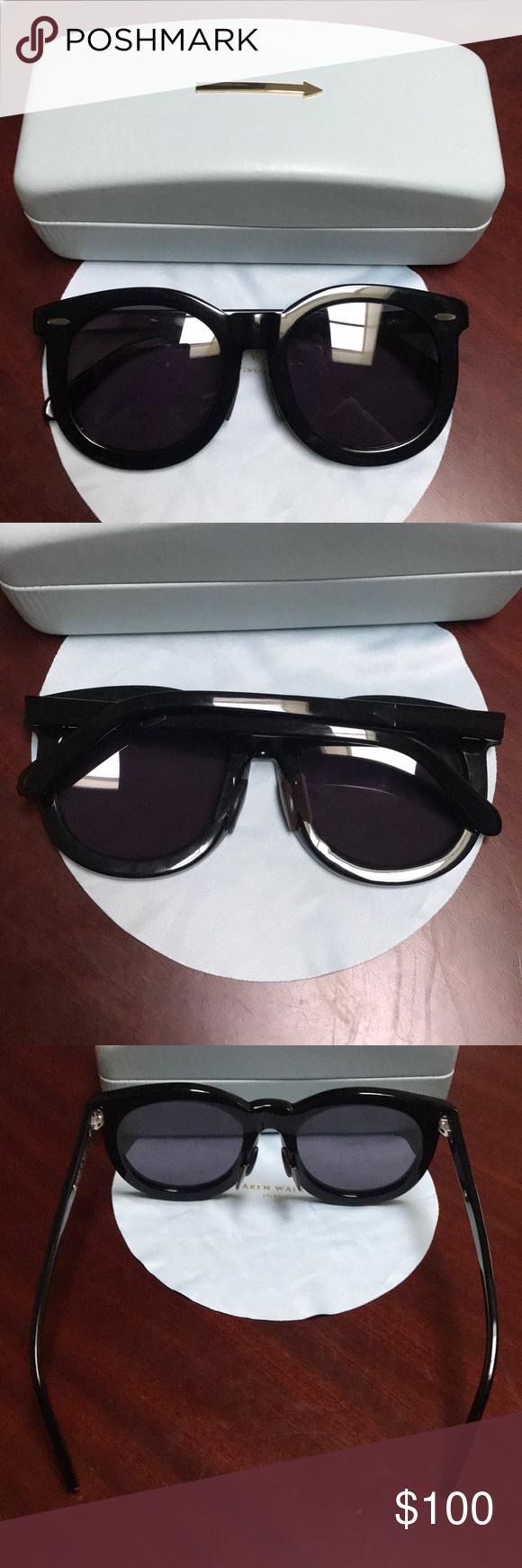 8d654238d99f Karen Walker Super Worship sunglasses Karen Walker Super Worship sunglasses.  One of the nose piece