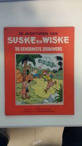 Suske en Wiske RV-33 - De geverniste zeerovers - sc - 1e druk (1958)
