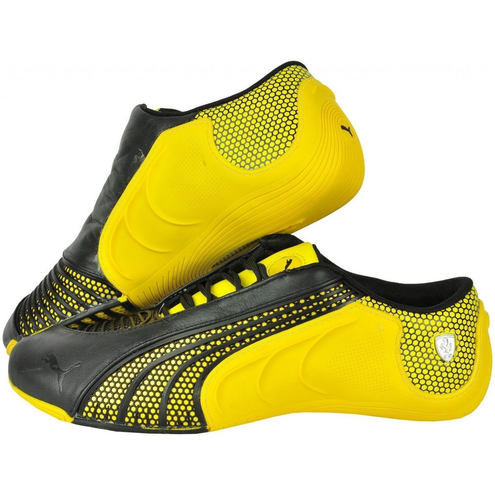 NEW Puma Ferrari Siluro Yellow Shoes SF 302840 02 Men s  998f443e1